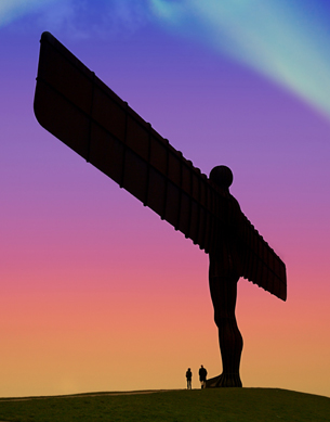 Life Coaching Newcastle and The Angel of the North