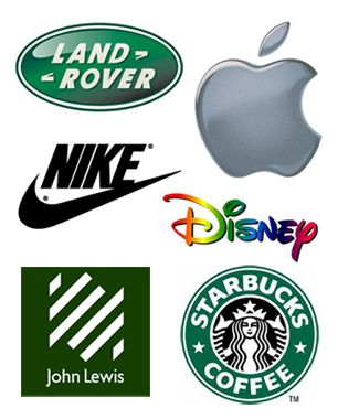 Corporate Identity - Some Famous Logos